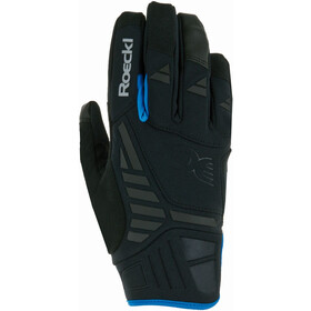 Roeckl Reintal Gants de cyclisme, black/blue
